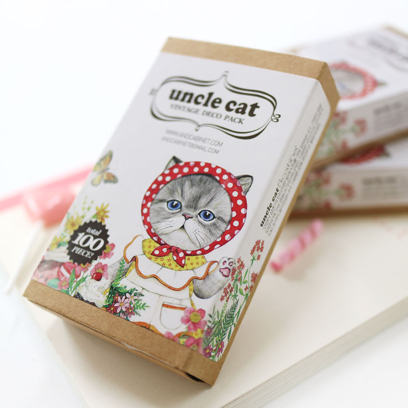 《 uncle cat  VINTAGE DECO PACK 》