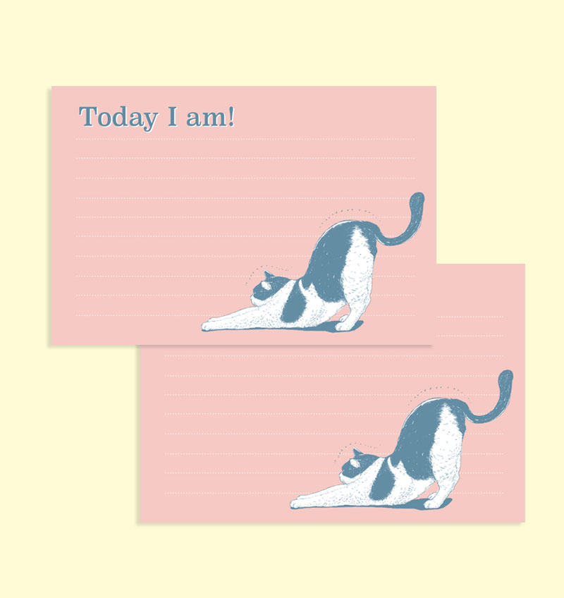 メモ帳 - Today I am!